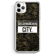 Gelsenkirchen City Camouflage iPhone 11 Pro Max Hülle Motiv Design Deutschlan...