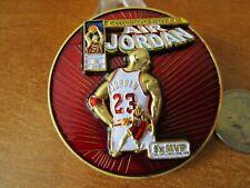 Michael Jordan Chicago Bulls Air Jordan 5x MVP Basketball Challenge Coin