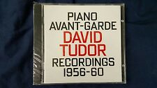 TUDOR DAVID - PIANO AVANT-GARDE. RECORDINGS 1956-1960. CD NEW SEALED