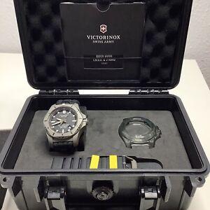 VICTORINOX Professional Diver 200m Anti Magnetic Titanium Watch Swiss Army VGC