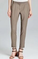 XL $178 Nwt Eileen Fisher Stone Lightweight Tencel Twill Pleated Slouchy Pant