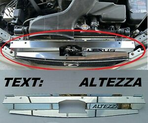 For Lexus IS200 IS300  Altezza Stainless Steel Cooling Plate Cooling Panel