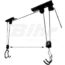 GANCIO SOLLEVATORE SOFFITTO BICI BYCICLE BIKE CEILING LIFT HANGER UNIVERSALE