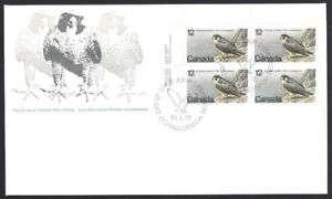 Canada   # 752 ULpb   Peregrine Falcon     Brand New 1978 Unaddressed Issue
