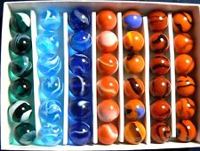 """CONTEMPORARY CELEBIRTY COLLECTORS 5/8"""" MARBLE BOX SET OF 42!!! LIMITED EDITION"""