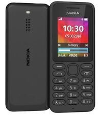BRAND NEW Nokia 130 - Black (Unlocked) Mobile Phone SIM FREE UNLOCKED UK SELLER