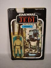 Star Wars ROTJ AT-ST Driver Action Figure Kenner 1983 77 Back MOC New