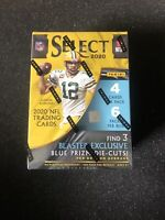 2020 Panini Select Football NFL Blaster Box Exclusive Blue Prizm FACTORY SEALED