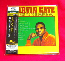 Marvin Gaye How Sweet It Is To Be Loved By You SHM MINI LP CD JAPAN UICY-94027