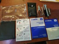 Yamaha 2019 Waverunner Superjet Operator Owners Manual and tool kit oem case