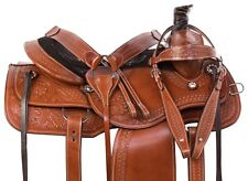 15 16 Heavy Duty Thick Cowhide Leather Western Horse Saddle Tack Package