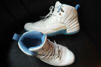 b45534aae29592 Used 2004 Nike Air Jordan Retro XII 12 White University Blue Melo PE Men s  sz