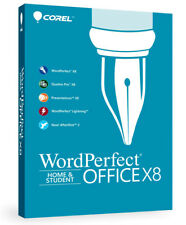 Corel WordPerfect Office Home & Student X8 - 3 PCs, New Retail Box