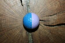 VINTAGE BLUE AND LAVENDER PING GOLF BALL MUST SEE!!!! RARE!!!!!