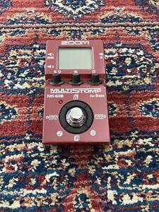 Zoom Ms60B - Bass Multi-effect Pedal