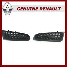 Genuine Renault Clio 197 Sport Upper Grille Inserts, Standard / Upgrade. New.