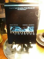 Unbreakable (Dvd, 2-Disc Set, Vista Series) - Bruce Willis & Mr Glass -Slipcover