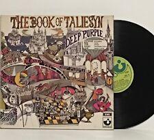Deep Purple THE BOOK OF TALIESYN 1968 UK 1st Press HARVEST SHVL 751 gatefold NM