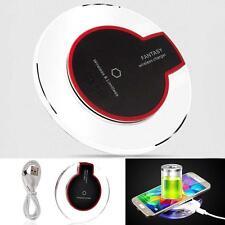 Hot QI Wireless Charger almohadilla carga dock cable para Samsung Galaxy S6 OP