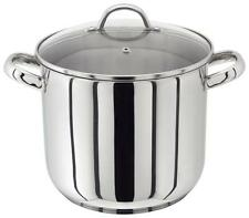 Judge 22cm Stainless Steel Stockpot With Vented Glass Lid