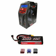 Venom 20C 3S 4000mAh 11.1V LiPo Battery with Pro Duo Charger Combo