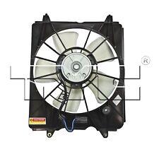 Driver Left Engine Cooling Fan Assembly TYC 601330 For Honda CR-V 2010-2016