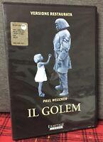 IL Golem DVD Paul Wegener Versione Restaurata Come da Foto N