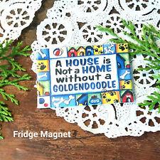 """Deco Magnet 2""""x3"""" Goldendoodle Fridge Magnet dog breeds doodle dogs gift Usa"""