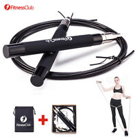 Jump Rope Speed Aerobic Exercise Boxing Skipping  Adjustable Bearing Fitness