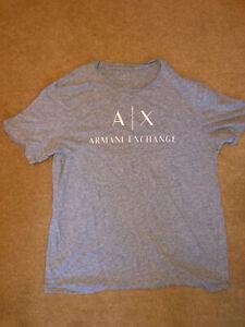 Armani Exchange T-Shirt Size Large Grey