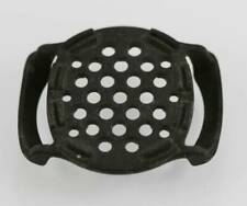 Black Rubber Watch Protector Ventilation Holes Fits up to 24mm Band, Back 38mm