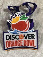 NCAA Discover Orange Bowl Patch 2011/12 West Virginia Clemson
