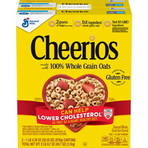 Original  Cheerios Gluten Free Cereal (20.35 oz 2 Pack) GREAT DEAL & SERVICE!!