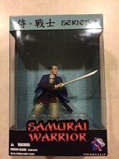 Samurai Warrior Japanese Figurine/Sculpture Purple