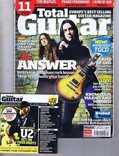 THE ANSWER / U2 / LAMB OF GOD Total Guitar + CD no. 187 Apr 2009