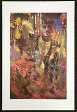Louis Delsarte AMERICAN GOTHIC 411/700 Limited Edition Lithograph Pencil Signed