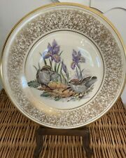 Lenox Boehm Birds Annual Edition Plate 1979, 24 K Gold border, Mint Condition