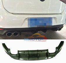 Carbon Fiber Rear Diffuser For Volkswagen VW Golf VII 7 MK7 GTI 14UP V043