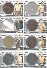 Scott Jorgensen 2011 Topps Finest UFC Finest Threads Jumbo Fighter Relics # JRSJ