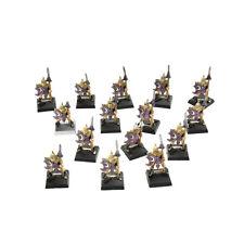 HIGH ELVES 15 Spearmen warriors classic #1 Warhammer Fantasy Aelves METAL