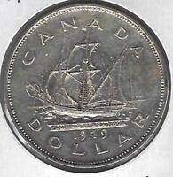 1949 Canada Dollar Coin AU-50