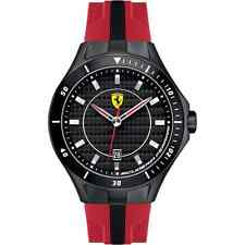 NEW SCUDERIA FERRARI 0830080 MENS RACE DAY WATCH - 2 YEARS WARRANTY
