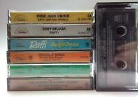 Raffi Children Cassette 7 Tape Lot -Singable Songs, Baby Beluga, Rise & Shine T2