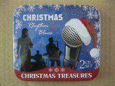 Rhythm & Blues Christmas NEW SEALED 2CD Christmas Treasures Tin box 2011 Various