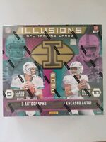 2020 Panini Illusions Football 1 HOBBY BOX Break #01 - 2 Random Team Per Spot