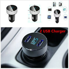 3.1A Display Voltage Car Charger+Dual USB for Phone Samsung Galaxy S4 S3 Note 4