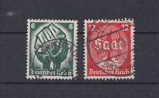 Deutsches Reich 544-545 gestempelt (986)