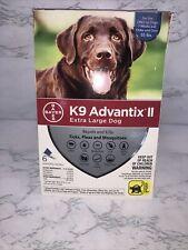 New listing D1. K9 Advantix Ii For Extra Large Xl Dog over 55 Lbs 6 Month Flea & Tick
