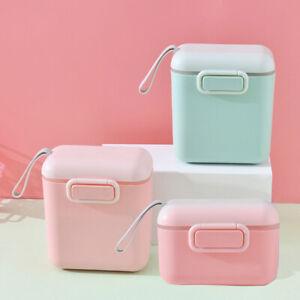New Baby Milk Powder Portable Baby Food Storage Box Essential  Powder Box`