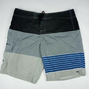 O'NEILL Board Shorts Unlined Cargo Pocket Men's Size 38